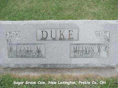 DUKE, MELVIN - Preble County, Ohio | MELVIN DUKE - Ohio Gravestone Photos