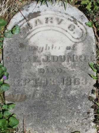 DUNKLE, MARY G. - Preble County, Ohio | MARY G. DUNKLE - Ohio Gravestone Photos