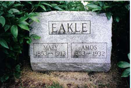 EAKLE, MARY - Preble County, Ohio | MARY EAKLE - Ohio Gravestone Photos