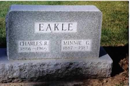 EAKLE, MINNIE G. - Preble County, Ohio | MINNIE G. EAKLE - Ohio Gravestone Photos