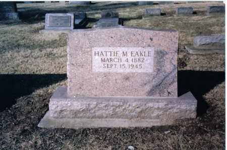 EAKLE, HATTIE M. - Preble County, Ohio | HATTIE M. EAKLE - Ohio Gravestone Photos