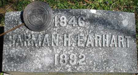 EARHART, HARMAN H. - Preble County, Ohio | HARMAN H. EARHART - Ohio Gravestone Photos
