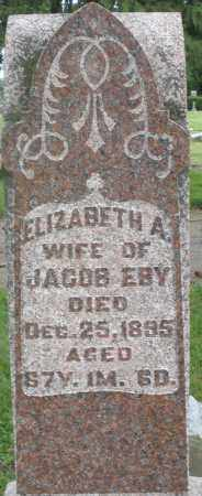 EBY, ELIZABETH A. - Preble County, Ohio   ELIZABETH A. EBY - Ohio Gravestone Photos