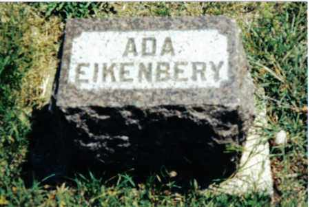 EIKENBERY, ADA - Preble County, Ohio | ADA EIKENBERY - Ohio Gravestone Photos