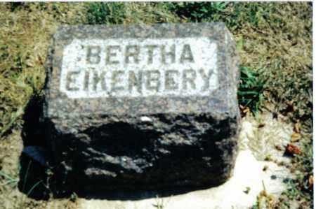 EIKENBERY, BERTHA - Preble County, Ohio | BERTHA EIKENBERY - Ohio Gravestone Photos