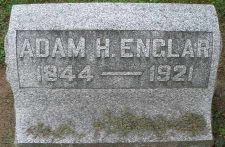 ENGLAR, ADAM H. - Preble County, Ohio | ADAM H. ENGLAR - Ohio Gravestone Photos