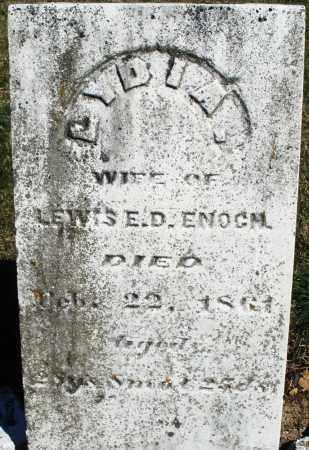 ENOCH, LYDIA - Preble County, Ohio   LYDIA ENOCH - Ohio Gravestone Photos