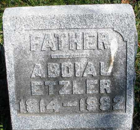 ETZLER, ABDIAL - Preble County, Ohio | ABDIAL ETZLER - Ohio Gravestone Photos