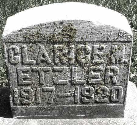 ETZLER, CLARICE M. - Preble County, Ohio | CLARICE M. ETZLER - Ohio Gravestone Photos
