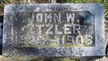 ETZLER, JOHN W. - Preble County, Ohio   JOHN W. ETZLER - Ohio Gravestone Photos