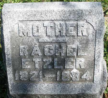 ETZLER, RACHEL - Preble County, Ohio | RACHEL ETZLER - Ohio Gravestone Photos