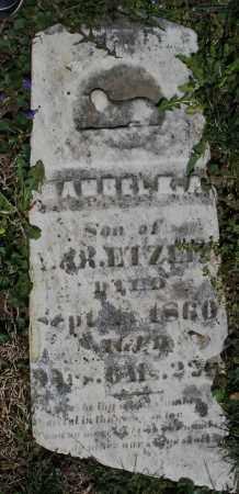 ETZLER, SON - Preble County, Ohio | SON ETZLER - Ohio Gravestone Photos