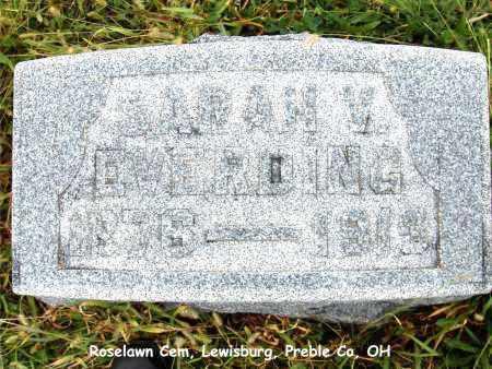 EVERDING, SARAH - Preble County, Ohio | SARAH EVERDING - Ohio Gravestone Photos
