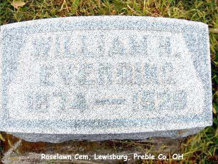 EVERDING, WILLIAM - Preble County, Ohio | WILLIAM EVERDING - Ohio Gravestone Photos