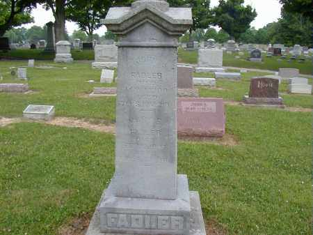 FADLER, JOHN - Preble County, Ohio | JOHN FADLER - Ohio Gravestone Photos