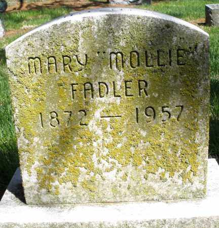 "FADLER, MARY ""MOLLIE"" - Preble County, Ohio 