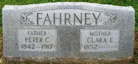FAHRNEY, CLARA E. - Preble County, Ohio | CLARA E. FAHRNEY - Ohio Gravestone Photos
