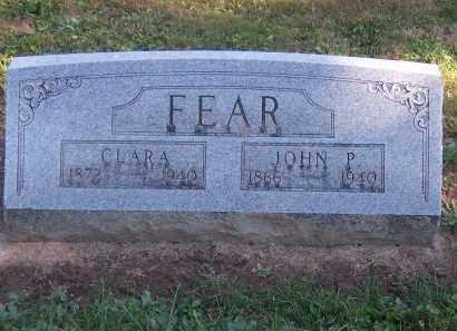 FEAR, CLARA - Preble County, Ohio   CLARA FEAR - Ohio Gravestone Photos
