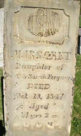 FERGUSON, MARGARET - Preble County, Ohio | MARGARET FERGUSON - Ohio Gravestone Photos
