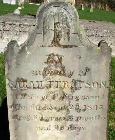 FERGUSON, SARAH - Preble County, Ohio | SARAH FERGUSON - Ohio Gravestone Photos