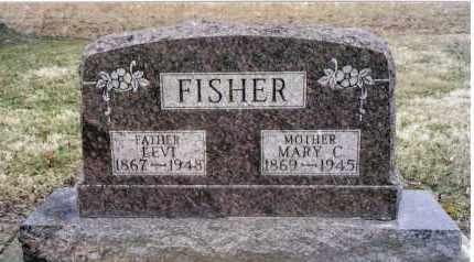 WAGGONER FISHER, MARY C. - Preble County, Ohio | MARY C. WAGGONER FISHER - Ohio Gravestone Photos
