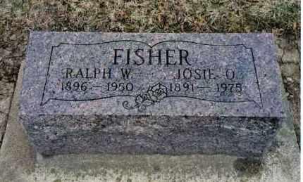 FISHER, JOSIE O. - Preble County, Ohio   JOSIE O. FISHER - Ohio Gravestone Photos
