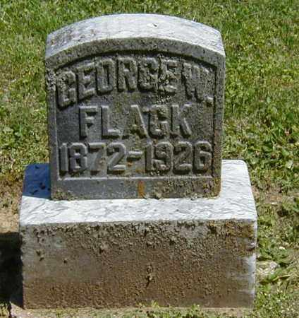 FLACK, GEORGE W. - Preble County, Ohio | GEORGE W. FLACK - Ohio Gravestone Photos