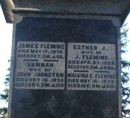 FLEMING, MALVINA E. - Preble County, Ohio | MALVINA E. FLEMING - Ohio Gravestone Photos