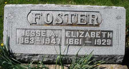 FOSTER, JESSE A. - Preble County, Ohio | JESSE A. FOSTER - Ohio Gravestone Photos