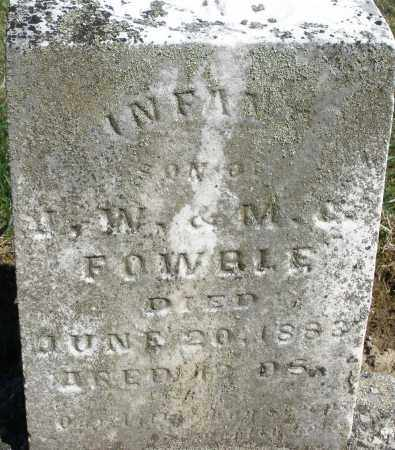 FOWBLE, INFANT SON - Preble County, Ohio | INFANT SON FOWBLE - Ohio Gravestone Photos