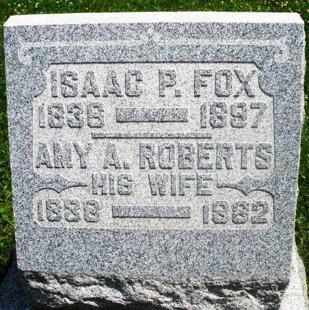 ROBERTS FOX, AMY A. - Preble County, Ohio | AMY A. ROBERTS FOX - Ohio Gravestone Photos