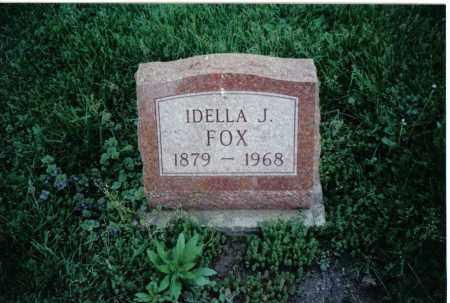 FOX, IDELLA J. - Preble County, Ohio | IDELLA J. FOX - Ohio Gravestone Photos