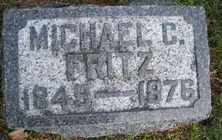 FRITZ, MICHAEL C. - Preble County, Ohio | MICHAEL C. FRITZ - Ohio Gravestone Photos