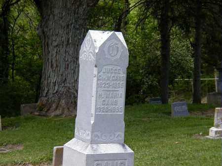 GANS, GEORGE W. - Preble County, Ohio | GEORGE W. GANS - Ohio Gravestone Photos