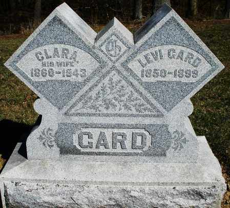 GARD, LEVI - Preble County, Ohio | LEVI GARD - Ohio Gravestone Photos