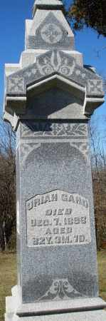 GARD, URIAH - Preble County, Ohio | URIAH GARD - Ohio Gravestone Photos