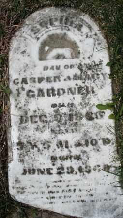 GARDNER, SOPHIA - Preble County, Ohio | SOPHIA GARDNER - Ohio Gravestone Photos