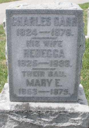 GARR, REBECCA - Preble County, Ohio | REBECCA GARR - Ohio Gravestone Photos