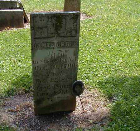 GBFER, JAMES - Preble County, Ohio   JAMES GBFER - Ohio Gravestone Photos