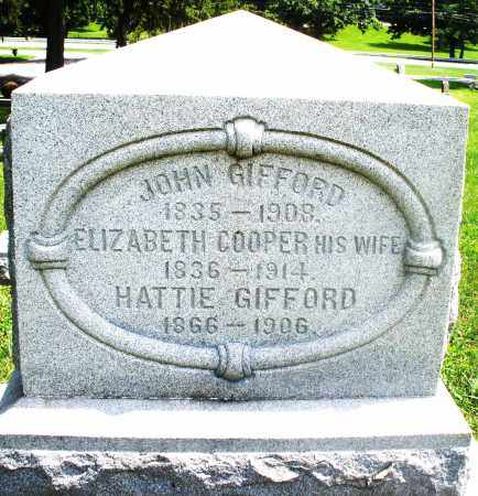 GIFFORD, HATTIE - Preble County, Ohio | HATTIE GIFFORD - Ohio Gravestone Photos