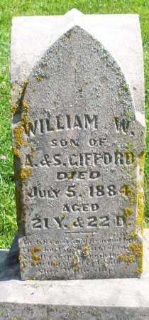GIFFORD, WILLIAM W. - Preble County, Ohio | WILLIAM W. GIFFORD - Ohio Gravestone Photos