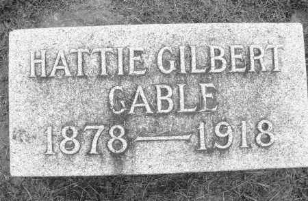 GABLE GILBERT, HATTIE - Preble County, Ohio | HATTIE GABLE GILBERT - Ohio Gravestone Photos