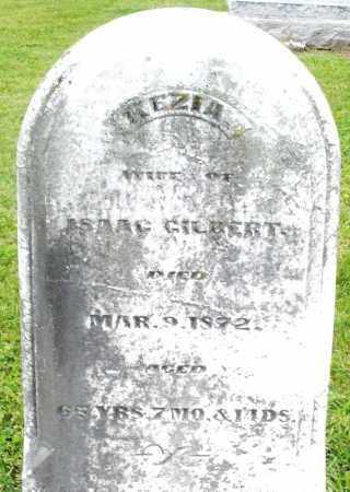 GILBERT, KEZIA - Preble County, Ohio | KEZIA GILBERT - Ohio Gravestone Photos
