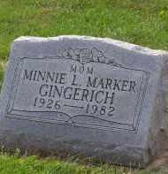 GINGERICH, MINNIE LOUISE - Preble County, Ohio | MINNIE LOUISE GINGERICH - Ohio Gravestone Photos