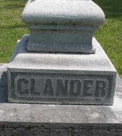 GLANDER, ? - Preble County, Ohio | ? GLANDER - Ohio Gravestone Photos