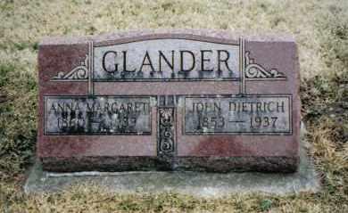 GLANDER, JOHN DIETRICH - Preble County, Ohio | JOHN DIETRICH GLANDER - Ohio Gravestone Photos