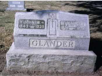 GLANDER, MARGARET - Preble County, Ohio | MARGARET GLANDER - Ohio Gravestone Photos