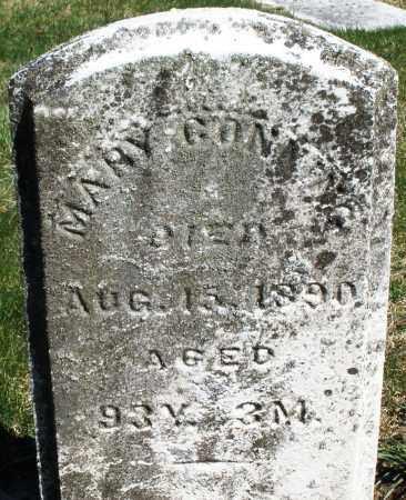 GONNING, MARY - Preble County, Ohio | MARY GONNING - Ohio Gravestone Photos