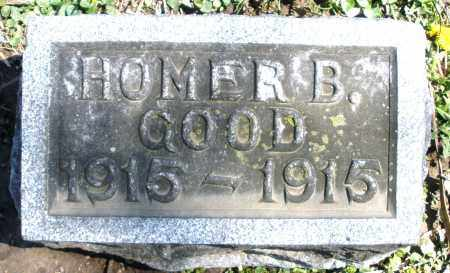 GOOD, HOMER B. INFANT - Preble County, Ohio | HOMER B. INFANT GOOD - Ohio Gravestone Photos
