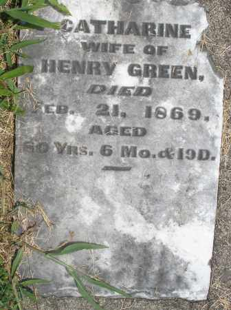 GREEN, CATHARINE - Preble County, Ohio   CATHARINE GREEN - Ohio Gravestone Photos